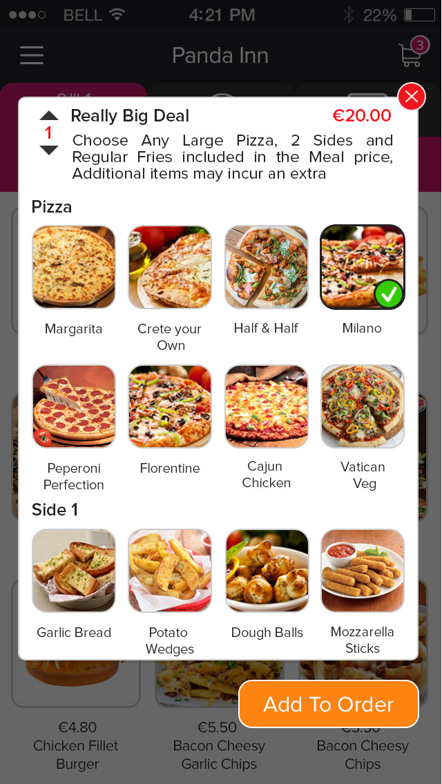 Online pizza ordering system, software, script| Pizza